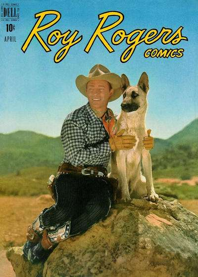 Roy Rogers Comics #16 comic books - cover scans photos Roy Rogers Comics #16 comic books - covers, picture gallery