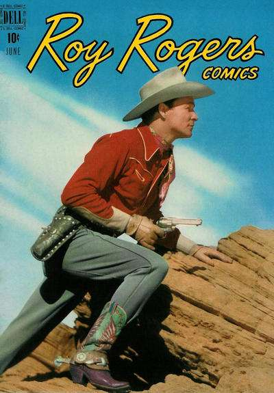 Roy Rogers Comics #18 comic books - cover scans photos Roy Rogers Comics #18 comic books - covers, picture gallery