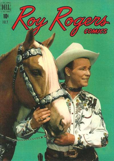 Roy Rogers Comics #19 comic books - cover scans photos Roy Rogers Comics #19 comic books - covers, picture gallery