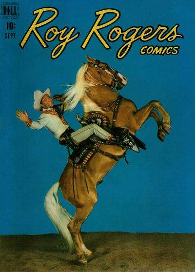 Roy Rogers Comics #21 comic books - cover scans photos Roy Rogers Comics #21 comic books - covers, picture gallery