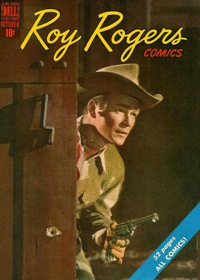 Roy Rogers Comics #22 comic books - cover scans photos Roy Rogers Comics #22 comic books - covers, picture gallery