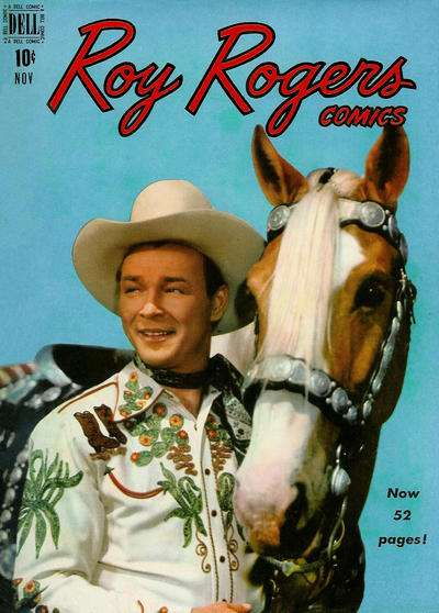 Roy Rogers Comics #23 comic books - cover scans photos Roy Rogers Comics #23 comic books - covers, picture gallery