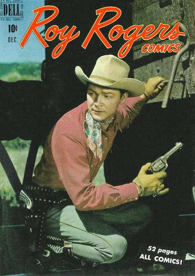 Roy Rogers Comics #24 comic books - cover scans photos Roy Rogers Comics #24 comic books - covers, picture gallery