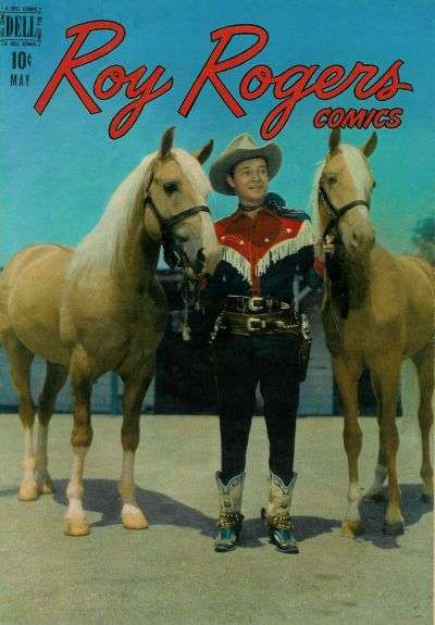 Roy Rogers Comics #5 comic books - cover scans photos Roy Rogers Comics #5 comic books - covers, picture gallery