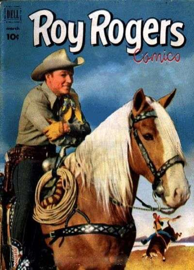 Roy Rogers Comics #51 comic books - cover scans photos Roy Rogers Comics #51 comic books - covers, picture gallery
