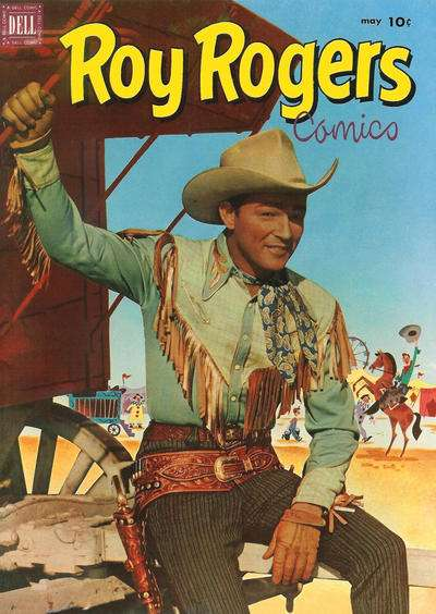 Roy Rogers Comics #53 comic books - cover scans photos Roy Rogers Comics #53 comic books - covers, picture gallery