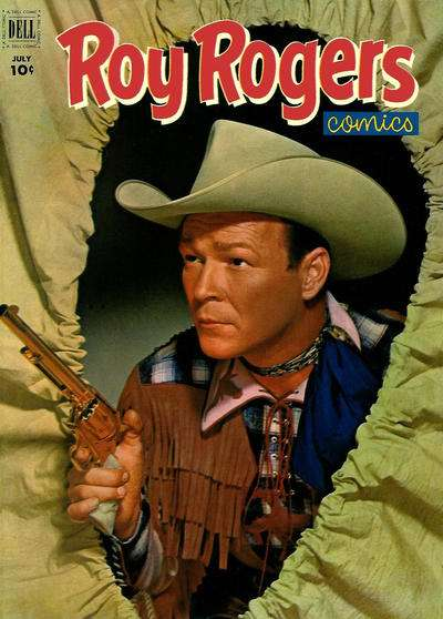 Roy Rogers Comics #55 comic books for sale