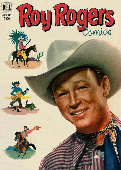 Roy Rogers Comics #56 comic books for sale