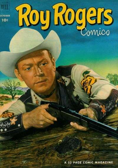 Roy Rogers Comics #58 comic books - cover scans photos Roy Rogers Comics #58 comic books - covers, picture gallery