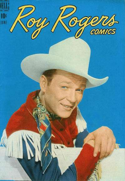 Roy Rogers Comics #6 comic books - cover scans photos Roy Rogers Comics #6 comic books - covers, picture gallery
