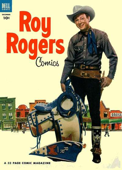 Roy Rogers Comics #60 comic books - cover scans photos Roy Rogers Comics #60 comic books - covers, picture gallery
