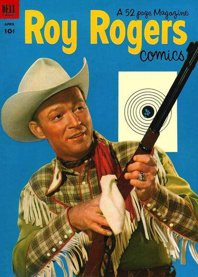 Roy Rogers Comics #64 comic books - cover scans photos Roy Rogers Comics #64 comic books - covers, picture gallery