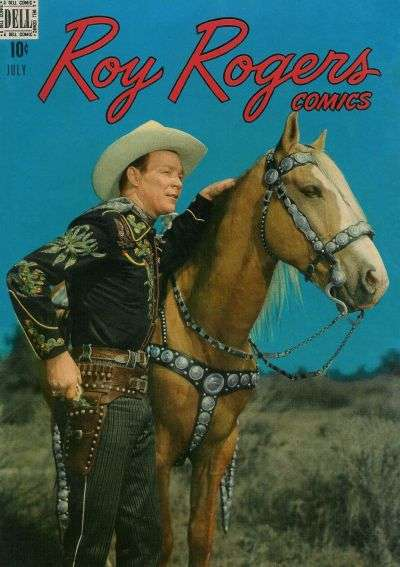 Roy Rogers Comics #7 comic books - cover scans photos Roy Rogers Comics #7 comic books - covers, picture gallery