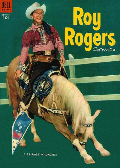 Roy Rogers Comics #71 comic books - cover scans photos Roy Rogers Comics #71 comic books - covers, picture gallery