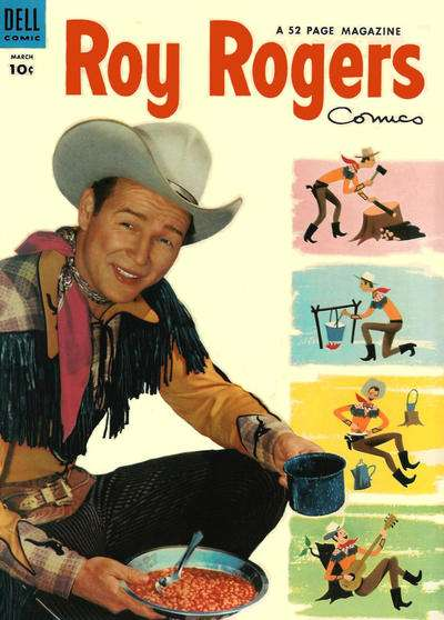 Roy Rogers Comics #75 comic books for sale