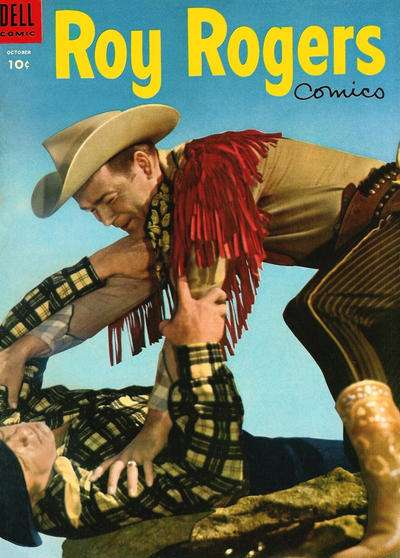 Roy Rogers Comics #82 comic books - cover scans photos Roy Rogers Comics #82 comic books - covers, picture gallery