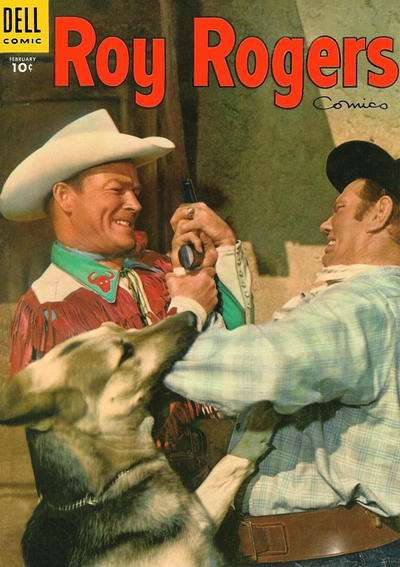 Roy Rogers Comics #86 comic books - cover scans photos Roy Rogers Comics #86 comic books - covers, picture gallery