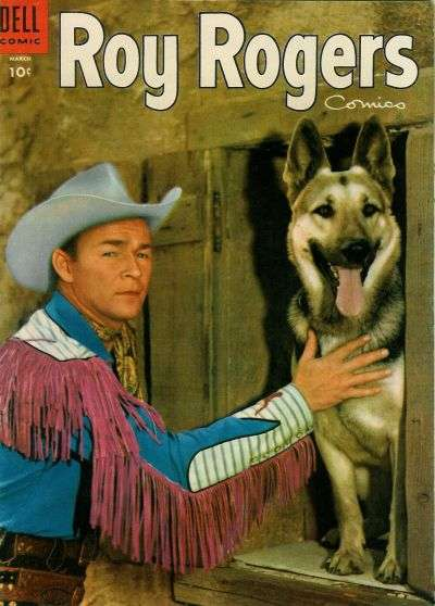 Roy Rogers Comics #87 comic books - cover scans photos Roy Rogers Comics #87 comic books - covers, picture gallery