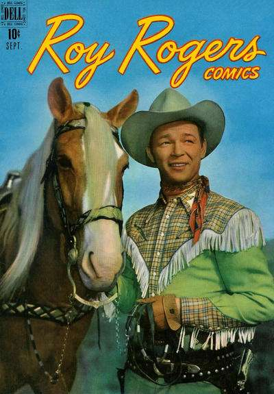 Roy Rogers Comics #9 comic books - cover scans photos Roy Rogers Comics #9 comic books - covers, picture gallery