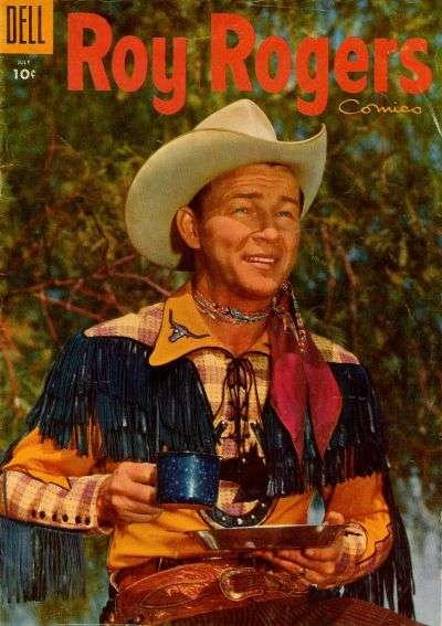 Roy Rogers Comics #91 comic books - cover scans photos Roy Rogers Comics #91 comic books - covers, picture gallery