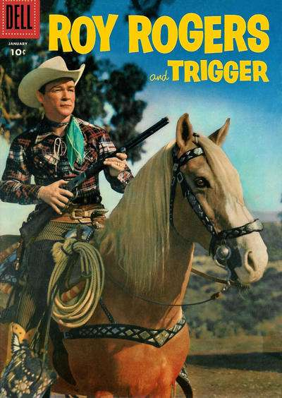 Roy Rogers Comics #97 comic books for sale