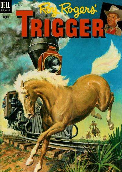 Roy Rogers' Trigger #11 Comic Books - Covers, Scans, Photos  in Roy Rogers' Trigger Comic Books - Covers, Scans, Gallery