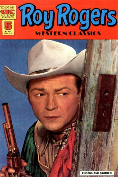 Roy Rogers Western Classics #5 comic books for sale