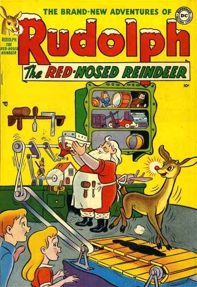Rudolph the Red-Nosed Reindeer Comic Books. Rudolph the Red-Nosed Reindeer Comics.