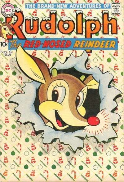Rudolph the Red-Nosed Reindeer #10 Comic Books - Covers, Scans, Photos  in Rudolph the Red-Nosed Reindeer Comic Books - Covers, Scans, Gallery