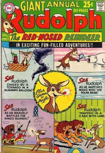 Rudolph the Red-Nosed Reindeer #13 Comic Books - Covers, Scans, Photos  in Rudolph the Red-Nosed Reindeer Comic Books - Covers, Scans, Gallery
