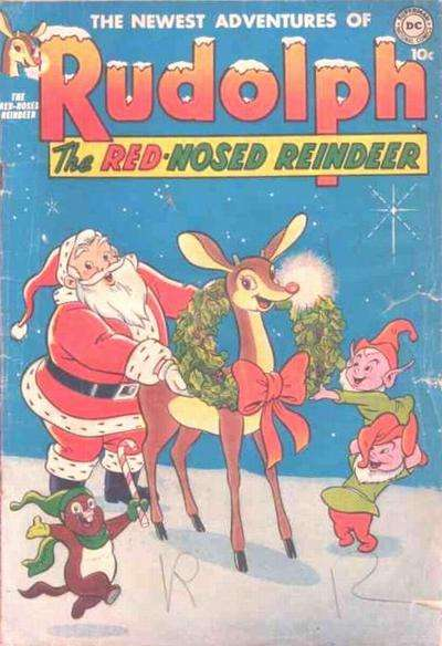Rudolph the Red-Nosed Reindeer #2 comic books - cover scans photos Rudolph the Red-Nosed Reindeer #2 comic books - covers, picture gallery