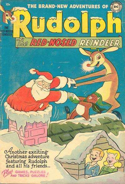 Rudolph the Red-Nosed Reindeer #3 Comic Books - Covers, Scans, Photos  in Rudolph the Red-Nosed Reindeer Comic Books - Covers, Scans, Gallery