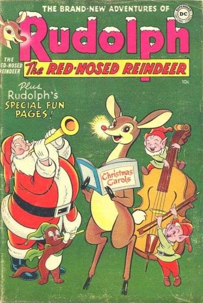Rudolph the Red-Nosed Reindeer #5 Comic Books - Covers, Scans, Photos  in Rudolph the Red-Nosed Reindeer Comic Books - Covers, Scans, Gallery