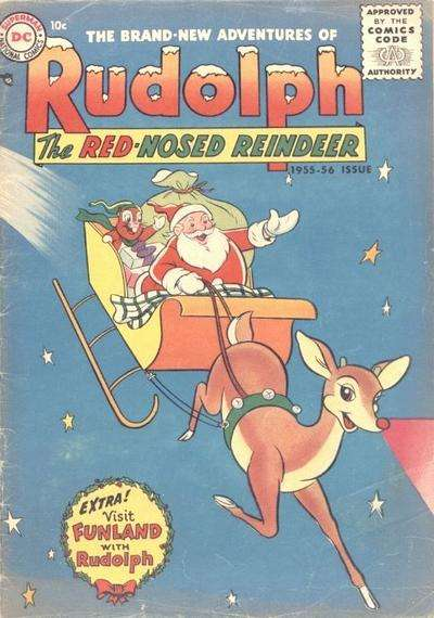 Rudolph the Red-Nosed Reindeer #6 Comic Books - Covers, Scans, Photos  in Rudolph the Red-Nosed Reindeer Comic Books - Covers, Scans, Gallery