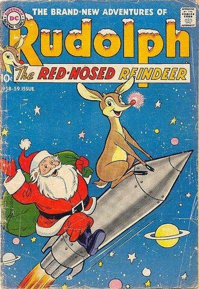 Rudolph the Red-Nosed Reindeer #9 Comic Books - Covers, Scans, Photos  in Rudolph the Red-Nosed Reindeer Comic Books - Covers, Scans, Gallery