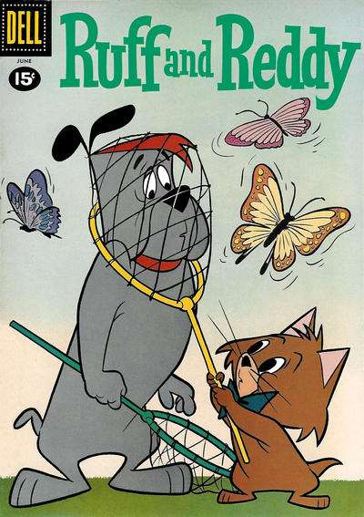 Ruff and Ready #9 comic books - cover scans photos Ruff and Ready #9 comic books - covers, picture gallery