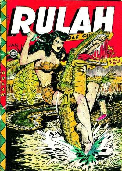 Rulah #22 comic books - cover scans photos Rulah #22 comic books - covers, picture gallery
