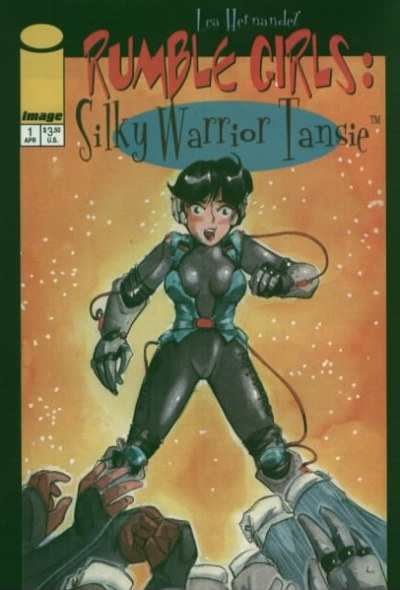 Rumble Girls: Silky Warrior Tansie #1 Comic Books - Covers, Scans, Photos  in Rumble Girls: Silky Warrior Tansie Comic Books - Covers, Scans, Gallery