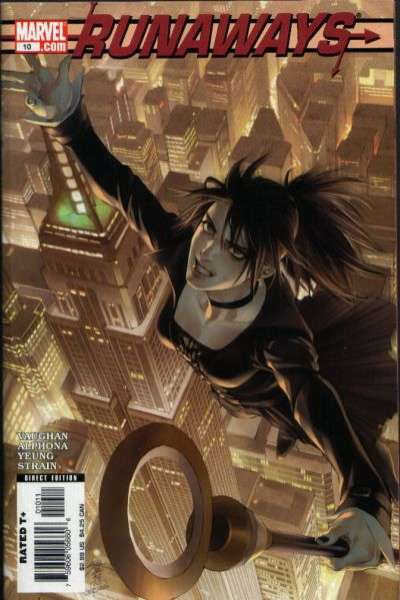 Runaways #10 comic books for sale