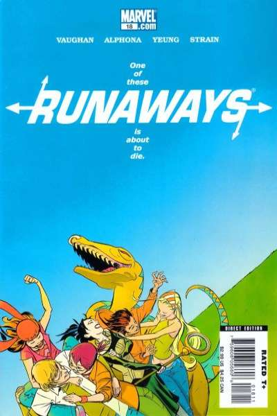 Runaways #18 comic books for sale