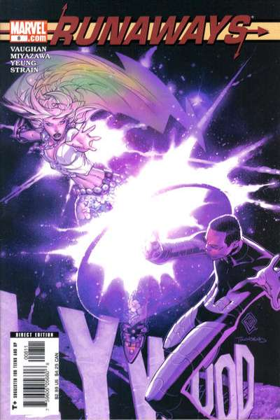 Runaways #8 comic books for sale