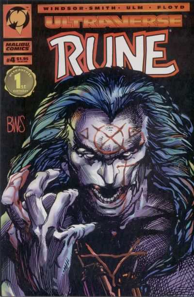 Rune #4 cheap bargain discounted comic books Rune #4 comic books