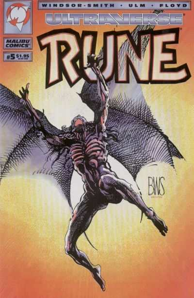 Rune #5 cheap bargain discounted comic books Rune #5 comic books