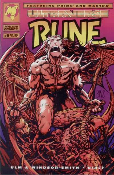 Rune #6 comic books for sale
