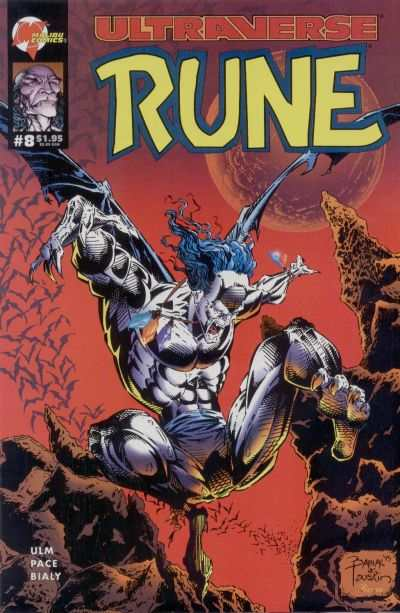 Rune #8 comic books for sale