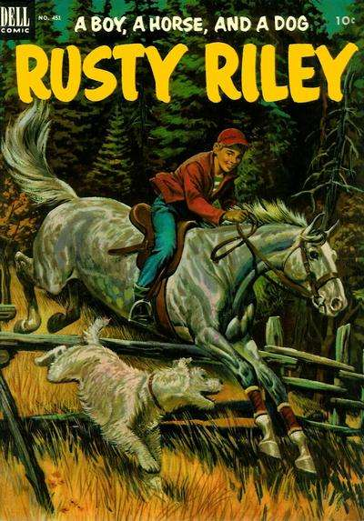Rusty Riley #2 Comic Books - Covers, Scans, Photos  in Rusty Riley Comic Books - Covers, Scans, Gallery
