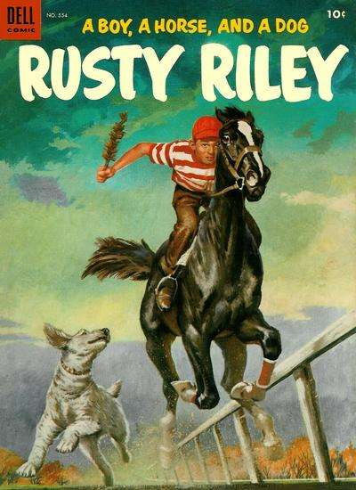 Rusty Riley #4 comic books for sale