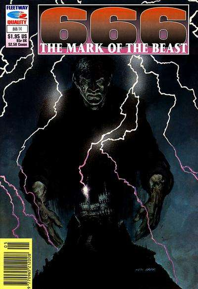 666 Mark of the Beast #14 comic books for sale