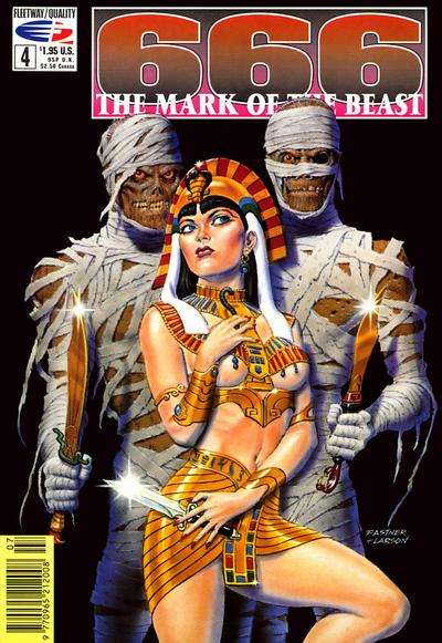 666 Mark of the Beast #4 comic books for sale