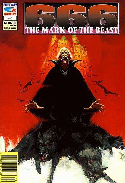 666 Mark of the Beast #9 comic books for sale